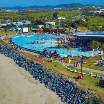 Yeppoon Lagoon Opening Event - Image by Livingstone Shire Council