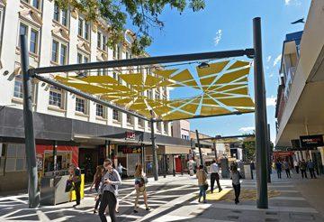 Brunswick Street Mall, Brisbane, Australia