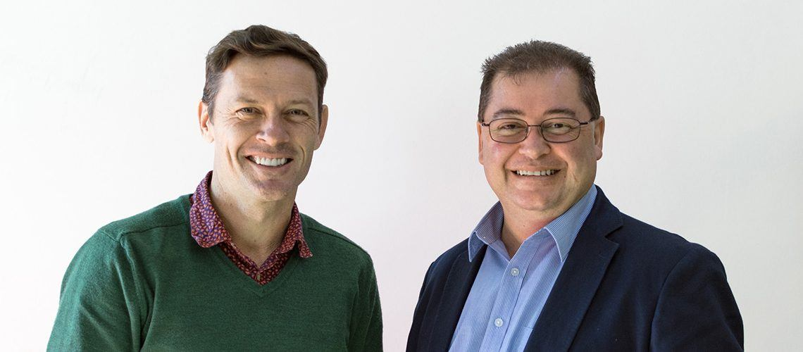 Place Design Group Managing Director, Shaun Munday & Place Design Group Design Manager, Hywel Jones