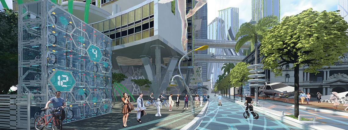 Future Street - Place Design Group - Virtual Reality