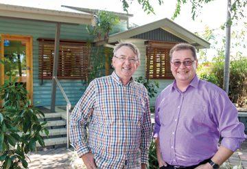 Townsville-Design-Great-Passes-on-Baton---Wal-Smith-&-Hywel-Jones