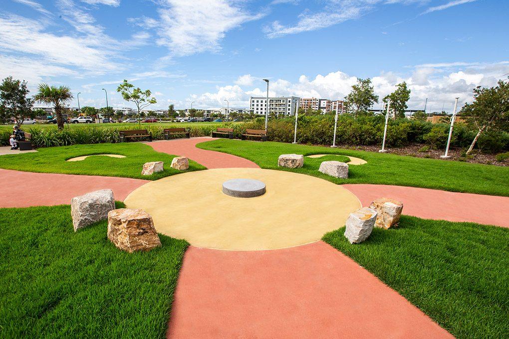 SCUH Reconciliation Garden